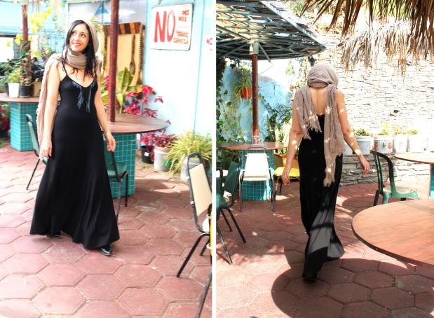 bel kazan wild horses dress black maxi dress with fringe la equnitia mexican restaurant